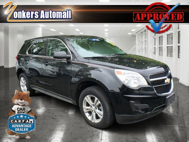 2013 Chevrolet Equinox LS BlackJet Black V4 24 Automatic 43046 miles Sophisticated smart an