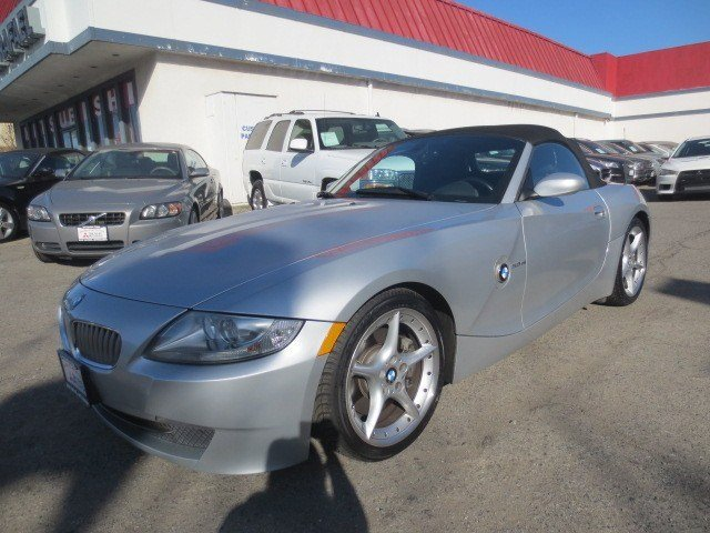 2006 BMW Z4 30si Roadster Titanium Silver MetallicBlack V6 30L Automatic 60896 miles LOCAL TR