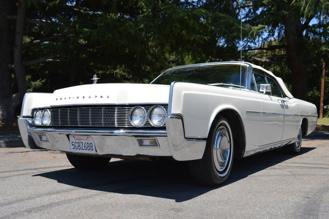 1967 Lincoln Continental Convertible Gorgeous Condition White V   22403 miles Beautiful Lincol