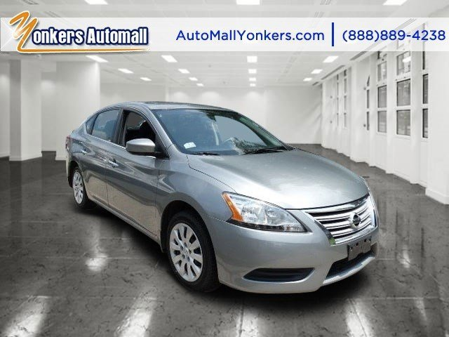 2013 Nissan Sentra SV Brilliant SilverMarble Gray V4 18L Automatic 43445 miles Yonkers Auto M