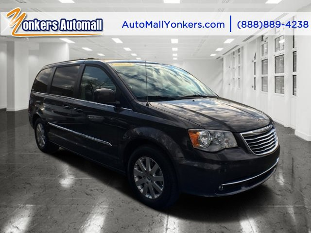 2015 Chrysler Town  Country Touring Granite Crystal Metallic ClearcoatBlackLight Graystone V6