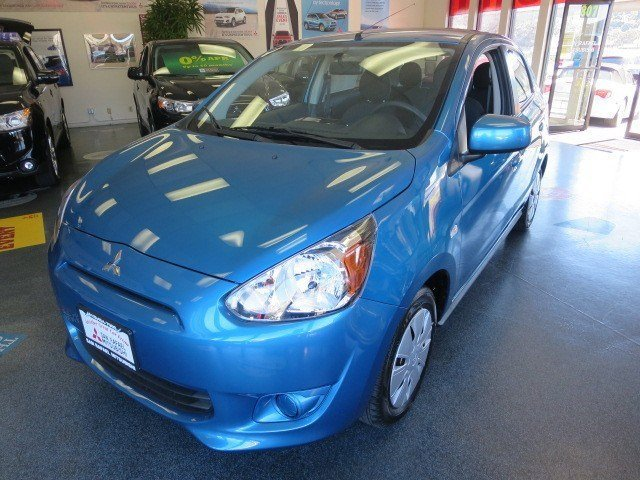 2014 Mitsubishi Mirage DE Sapphire BlueBlack V3 12 L Automatic 5 miles The ALL NEW 2014 Mitsub