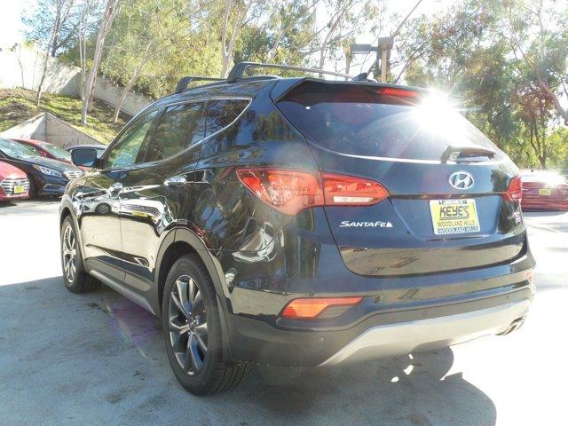 2017 Hyundai Santa Fe Sport 20T Ultimate BlackGray V4 20 L Automatic 12 miles Woodland Hills