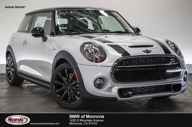 2016 MINI Cooper Hardtop S White Silver MetallicCarbon Black V4 20 L Automatic 0 miles  Turbo