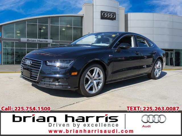 2017 Audi A7 Premium Plus MOONLIGHT BLUEBlack V6 30 L Automatic 14 miles  Supercharged  All