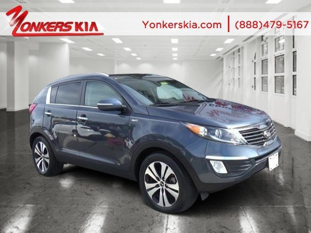 2013 Kia Sportage EX Twilight BlueAlpine Gray V4 24L Automatic 34723 miles Clean Carfax 1 Own