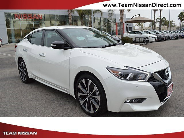2017 Nissan Maxima SR Pearl WhiteCharcoal V6 35 L Variable 0 miles  Front Wheel Drive  Activ