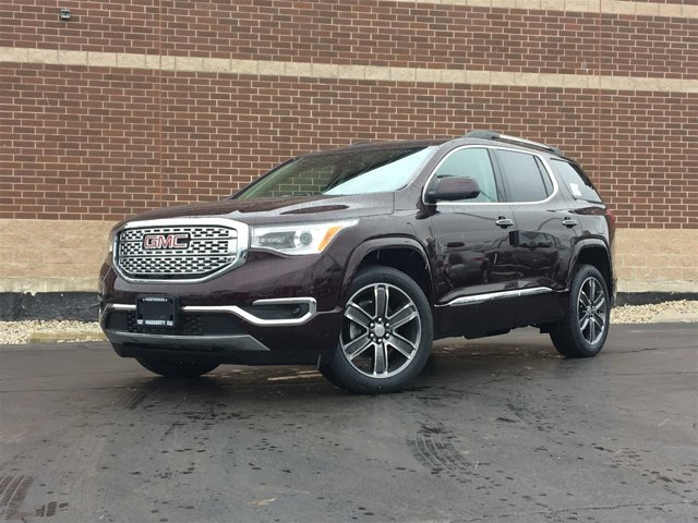 2017 GMC Acadia Denali Black Cherry MetallicCOCOASHALE PERF LTH V6 36L Automatic 2 miles Int