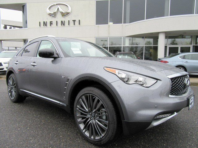 2017 Infiniti QX70 Graphite ShadowClimate Controlled Sport Style Front Seats