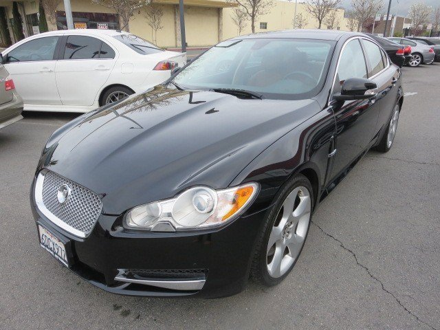 2009 Jaguar XF Supercharged MidnightSpiceCharcoal V8 42L Automatic 67408 miles LOADED UP 1-O