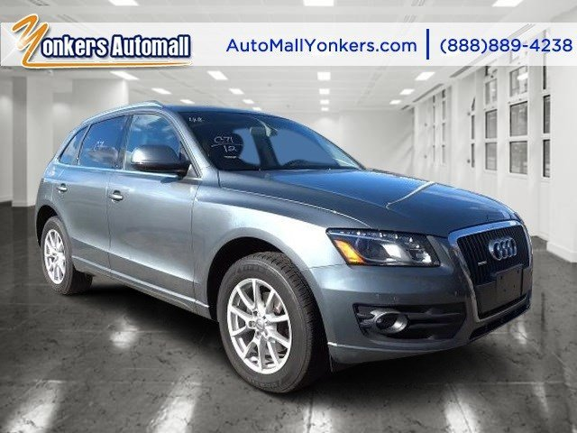 2012 Audi Q5 20T Premium Plus Monsoon Gray MetallicBlack V4 20L Automatic 44835 miles 1 owne