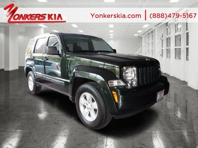 2010 Jeep Liberty Sport Natural Green PearlDark slate gray V6 37L Automatic 82308 miles 4WD