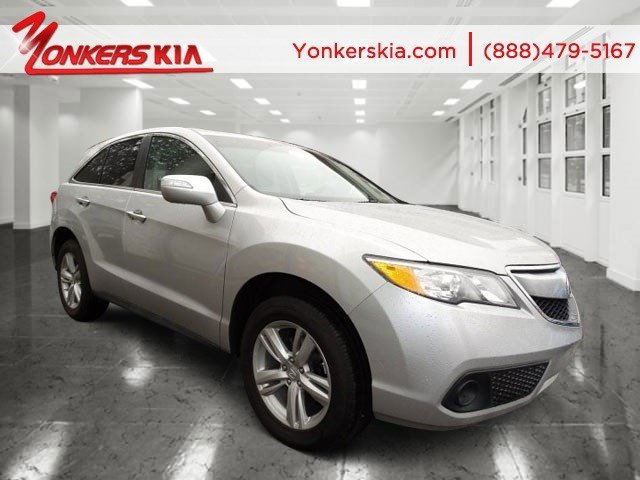 2013 Acura RDX wNavigation Forged Silver MetallicEbony V6 35L Automatic 51870 miles 1 owner
