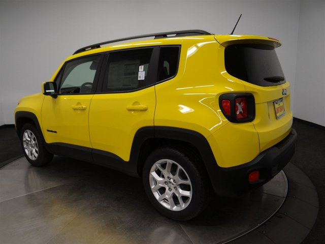 2017 Jeep Renegade Latitude PYB SOLAR YELLOW VR-178BA7X9 V4 24 L Automatic 14 miles JEEP R