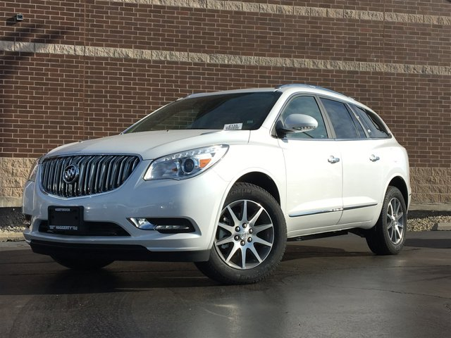 2017 Buick Enclave Leather White Frost Tricoat V6 36L Automatic 2099 miles Buick began its pr
