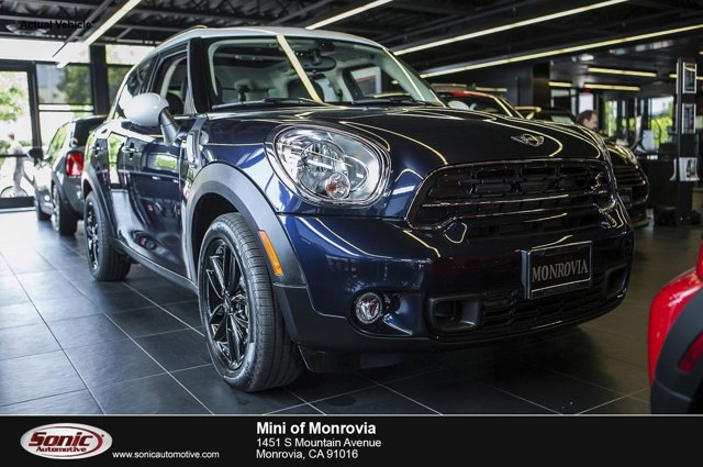 2016 MINI Cooper Countryman S Cosmic Blue MetallicCarbon Black V4 16 L Automatic 0 miles  Tur