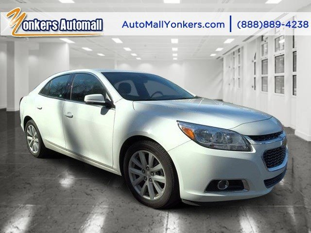 2014 Chevrolet Malibu 2LT Summit WhiteJet Black V4 25L Automatic 27487 miles Clean carfax 2