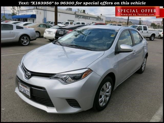 2015 Toyota Corolla Classic Silver Metallic V4 18 L  25213 miles Choose from our wide range o