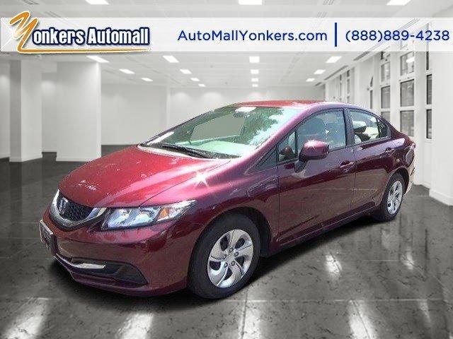 2013 Honda Civic Sdn LX Crimson PearlBeige V4 18L Automatic 30504 miles Boasting exemplary cr