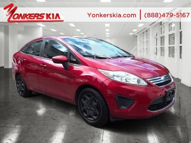 2012 Ford Fiesta SE Red Candy MetallicLight Stone V4 16L Automatic 63040 miles Yonkers Kia is