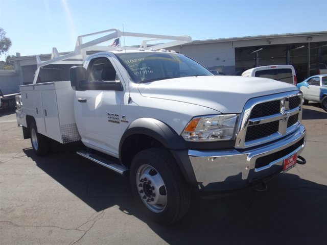 2017 Ram 5500 Chassis Cab V BRIGHT WHITE CL V6 67 L Automatic 125 miles Ram 5500 Chassis Cabs