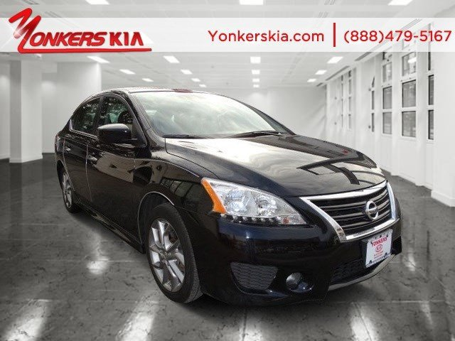 2013 Nissan Sentra SR Super BlackCharcoal V4 18L Automatic 5794 miles 1 owner clean carfax