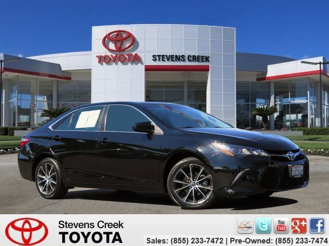 2015 Toyota Camry Xse Sedan Attitude Black V6 35 L Automatic 36089 miles Environmentally-frie