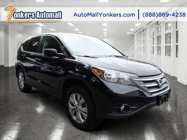2013 Honda CR-V EX Crystal Black PearlGray V4 24L Automatic 40045 miles Yonkers Auto Mall is