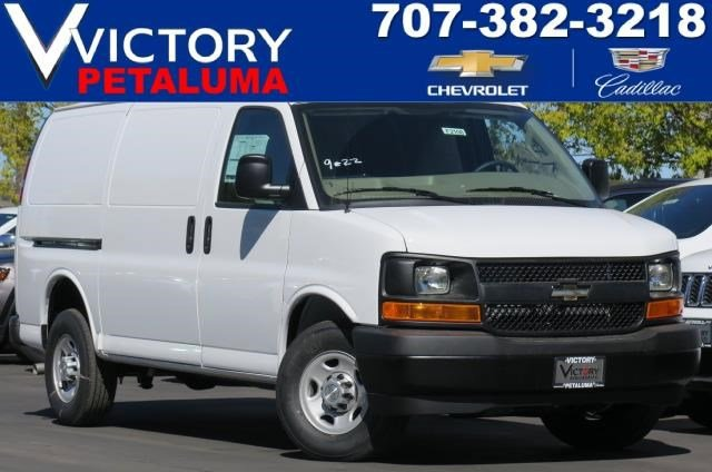 2017 Chevrolet Express Cargo Van Summit WhiteNeutral V8 48L Automatic 0 miles  Power Door Loc