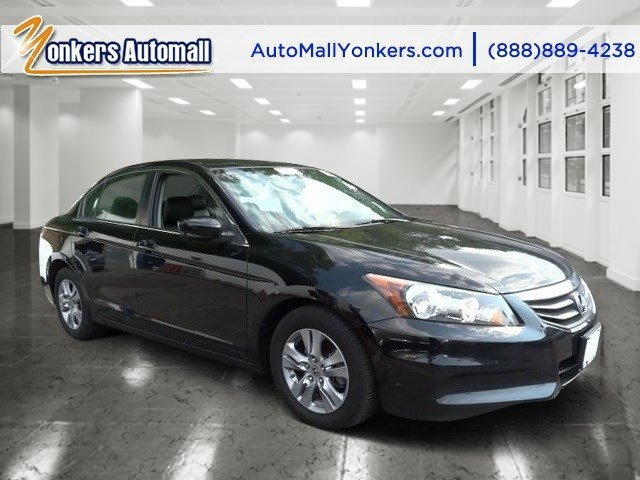 2012 Honda Accord Sdn SE Crystal Black PearlBlack V4 24L Automatic 42698 miles Yonkers Auto M