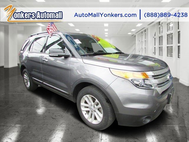 2013 Ford Explorer XLT Sterling Gray MetallicTan V6 35L Automatic 42507 miles Solid and state