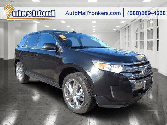 2013 Ford Edge Limited Tuxedo Black MetallicCharcoal Black V6 35L Automatic 41893 miles 1 own