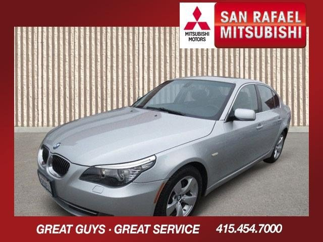 2008 BMW 5 Series 528i Titanium Silver MetallicBlack V6 30L Automatic 85153 miles Local Trade