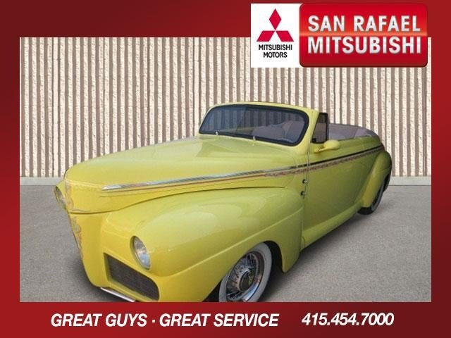 1941 Ford Carson Roadster Yellow w Custom FlamesBeige V8  Automatic 0 miles 1941 Ford Coupe Cu