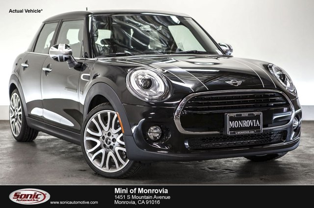 2016 MINI Cooper Hardtop 4 Door 4dr HB Midnight Black MetallicCarbon Black V3 15 L Automatic 0