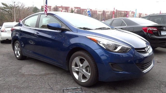 2013 Hyundai Elantra Limited Atlantic BlueGray V4 18L Automatic 40994 miles 1 owner clean car