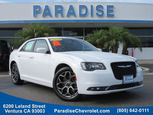 2018 Chrysler 300 300S Bright White ClearcoatBlack V6 36 L Automatic 36126 miles Scores 27 Hig