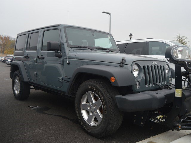 2014 Jeep Wrangler Unlimited Sport Anvil Clear CoatBlack V6 36 L Automatic 39289 miles Full Q
