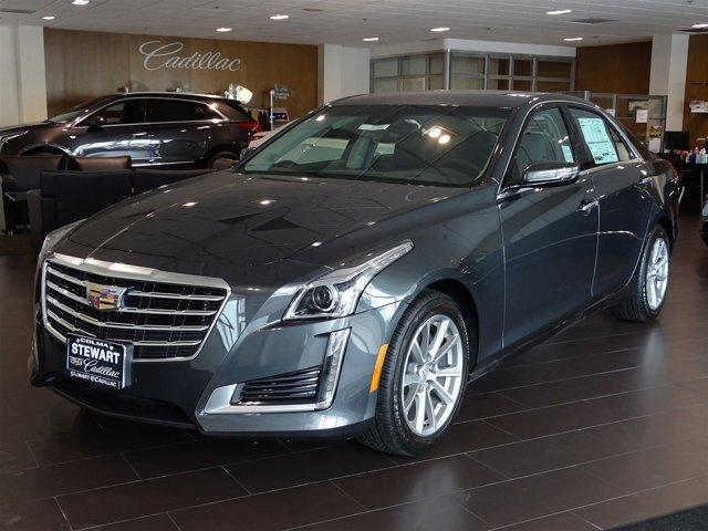 2017 Cadillac CTS Sedan Luxury RWD Phantom Gray MetallicJet Black with Jet Black Accents V6 36L