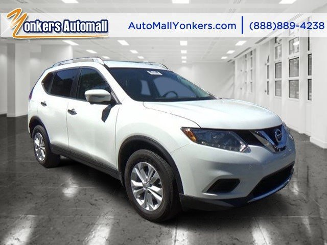 2014 Nissan Rogue SV Moonlight WhiteCharcoal V4 25 L Variable 36280 miles Lavishly luxurious
