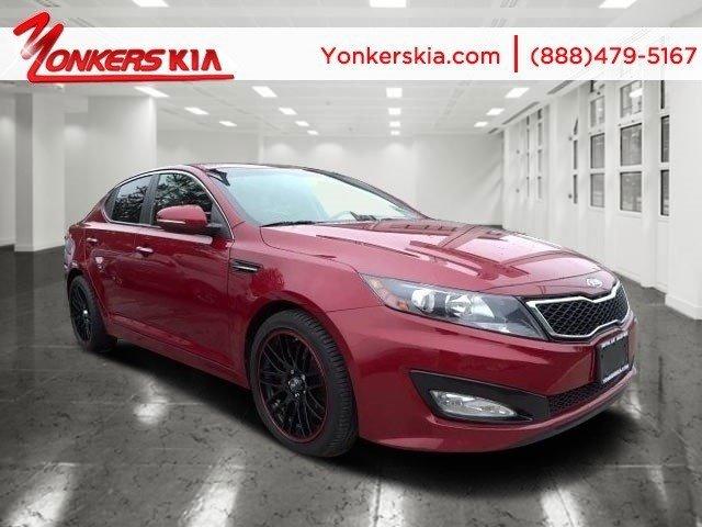 2012 Kia Optima SX Spicy RedBlack V4 20L Automatic 61392 miles  Alloy Wheels  Bluetooth  Po
