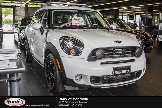 2016 MINI Cooper Countryman S ALL4 Light WhiteCarbon Black V4 16 L Automatic 0 miles  Turboch