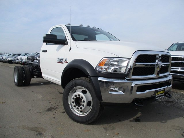 2017 Ram 5500 Chassis Cab V Bright White ClearcoatDiesel GrayBlack V6 67 L Automatic 4 miles
