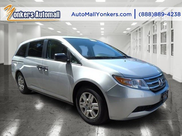 2012 Honda Odyssey LX Alabaster Silver MetallicGray V6 35L Automatic 41483 miles  ALABASTER S