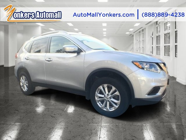 2014 Nissan Rogue SV Brilliant SilverCharcoal V4 25 L Variable 32896 miles AWD NAVIGATION