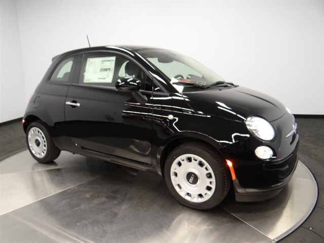 2016 FIAT 500 Pop Nero Puro Straight BlackA7X9 V4 14 L Manual 0 miles Buy it Try it Love