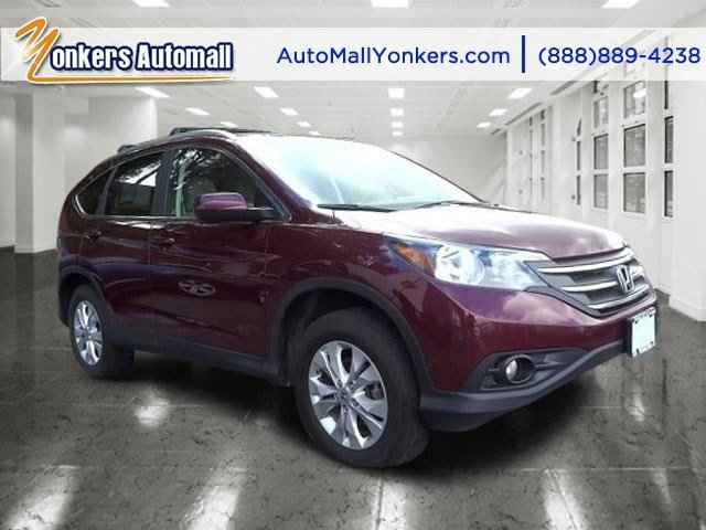 2012 Honda CR-V EX-L Basque Red Pearl IIGray V4 24L Automatic 48745 miles 1 owner clean carf