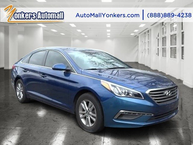 2015 Hyundai Sonata 24L SE Lakeside BlueGray V4 24 L Automatic 30661 miles Bluetooth and sat