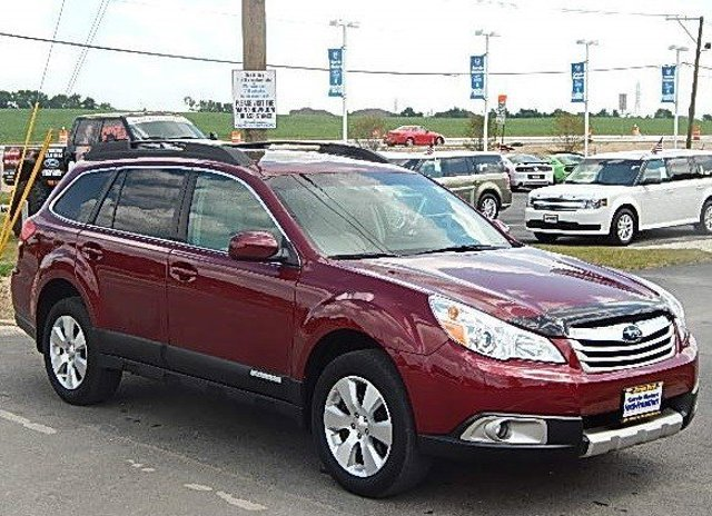 2011 Subaru Outback 36R Limited Pwr MoonNav Ruby Red PearlIvory V6 36L Automatic 45429 miles