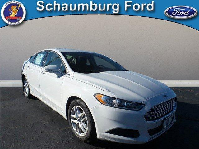2016 Ford Fusion SE White Platinum Metallic Tri-CoatCharcoal Black V4 25 L Automatic 10 miles